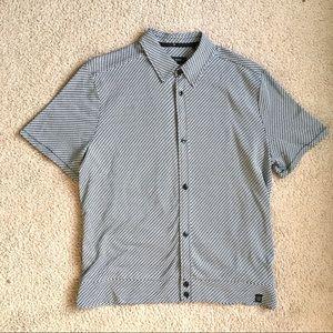 Rag & bone men's printed button down shirt